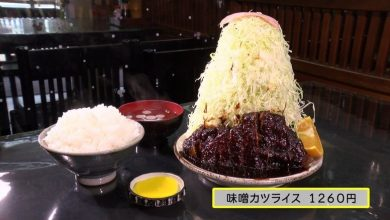 Photo of 大滿足!日本名古屋高25cm的味噌吉列豬扒飯